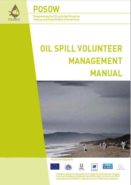 Oil Spill Volunteer Management Manual (POSOW, 2013)