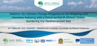 Webinar for Climate Change Mitigation in the Shipping and Maritime Industry with a Focus on North African States bordering the Mediterranean Sea