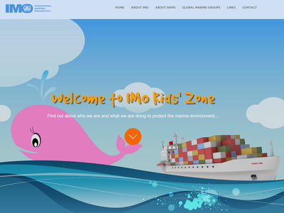 All aboard the IMO kids' zone