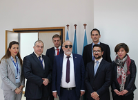 Courtesy visit of His Excellency Mr Panagiotis Kouroumplis, Minister of Maritime Affairs and Insular Policy of the Hellenic Republic to REMPEC