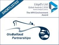 GEF-UNDP-IMO GloBallast Partnerships listed for global award