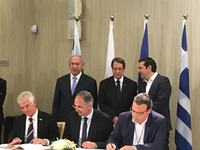 Implementation Agreement on the Sub-Regional Marine Oil Pollution Contingency Plan signed by Cyprus, Greece and Israel (UN Environment news item)