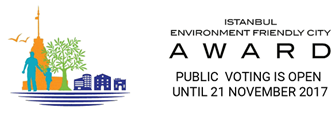 Istanbul Environment Friendly City Award (IEFCA) / Public voting