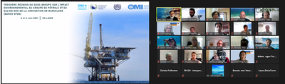 Monitoring the impact of the Offshore activities in the environment