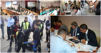 REMPEC organized a Regional Training Course on Port Biological Baseline Survey (PBBS) in Turkey