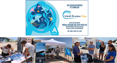 REMPEC raises awareness on marine pollution during the World Ocean Day 2019