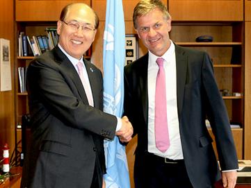 UN Environment visits IMO