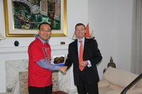 Visit of a delegation from KOREA and MERRAC
