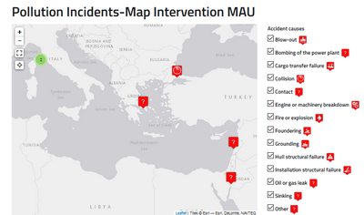 Pollution Incidents Map