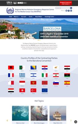 REMPEC lance ses deux nouveaux sites internet : REMPEC and MENELAS
