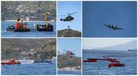 Lutte contre la pollution marine : exercice de simulation au large de Skikda
