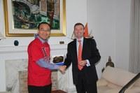 Une délégation de Corée et de MERRAC visite le REMPEC
