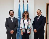 Visite de courtoisie au REMPEC de l'Ambassadrice d'Egypt à Malte (seulement en Anglais)