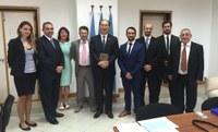 Visite de Mr Kitack LIM, secrétaire general de l'OMI, au centre